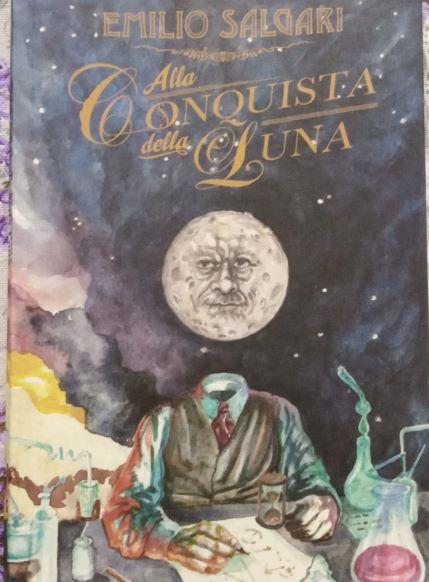 Alla Conquista della Luna Book Cover